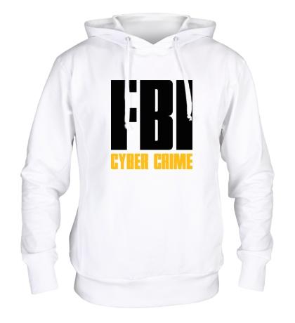 Толстовка с капюшоном FBI Cyber Crime