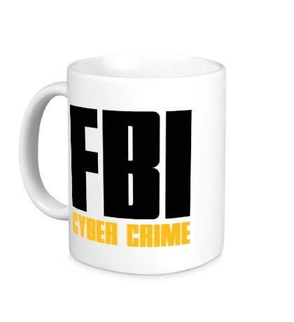Керамическая кружка FBI Cyber Crime