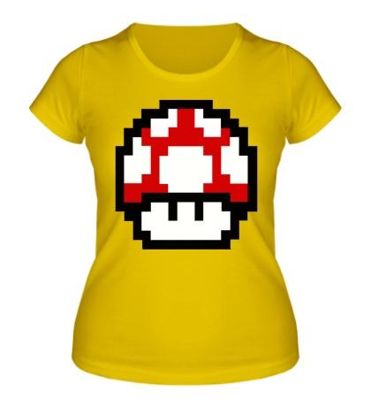 Женская футболка Mario Mushroom