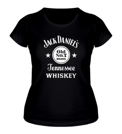 Женская футболка Jack Daniels: Old No.7 Brand