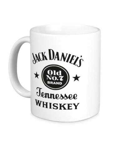 Керамическая кружка Jack Daniels: Old No.7 Brand