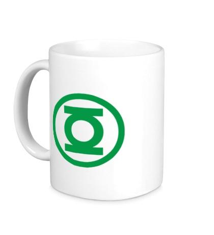 Керамическая кружка Зелёный Фонарь