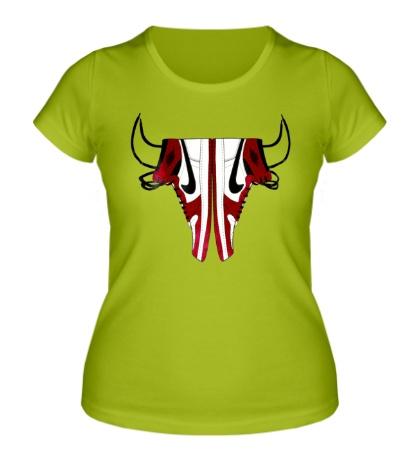 Женская футболка Air Jordan Bull