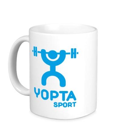 Керамическая кружка Yopta Sport