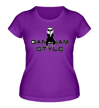 Женская футболка Gangnam Style Boy