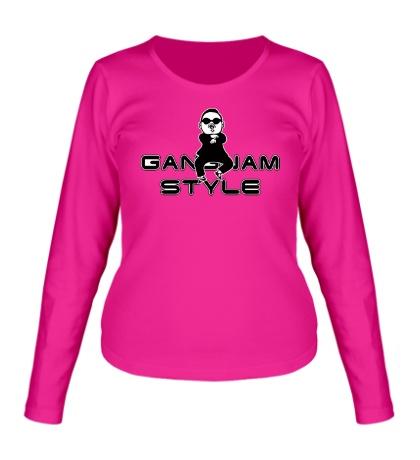 Женский лонгслив Gangnam Style Boy