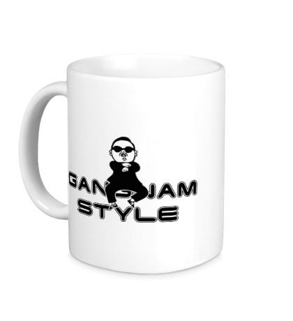 Керамическая кружка Gangnam Style Boy