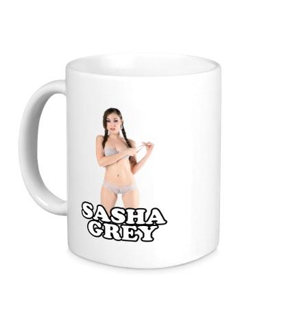 Керамическая кружка Sasha Grey pornstar
