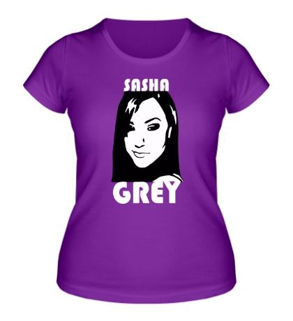 Женская футболка Sasha Grey: Portrait
