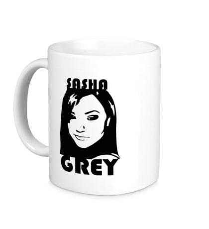 Керамическая кружка Sasha Grey: Portrait
