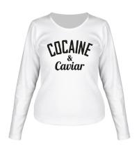Женский лонгслив Cocaine & Caviar