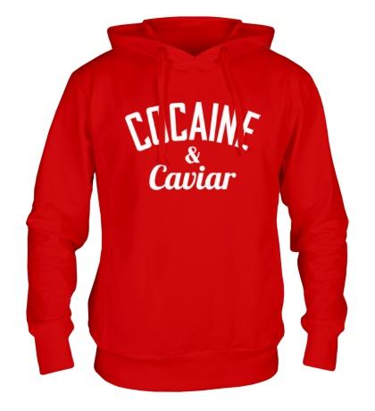 Толстовка с капюшоном Cocaine & Caviar
