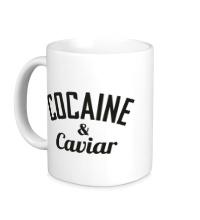 Керамическая кружка Cocaine & Caviar