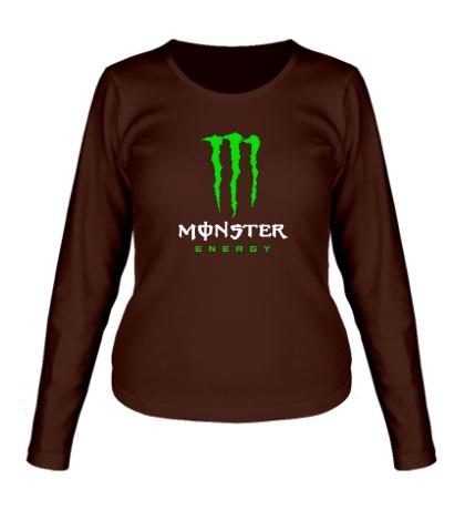 Женский лонгслив Monster Energy