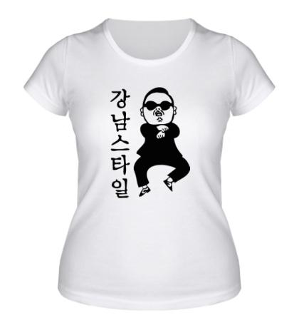Женская футболка Gangnam PSY