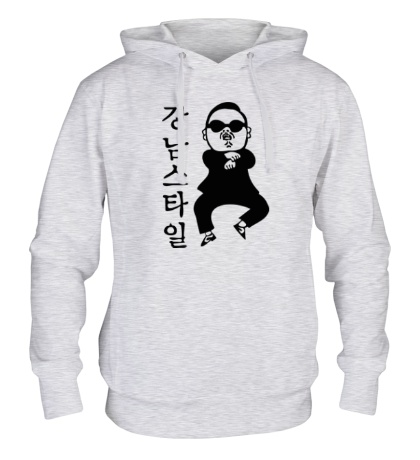 Толстовка с капюшоном Gangnam PSY
