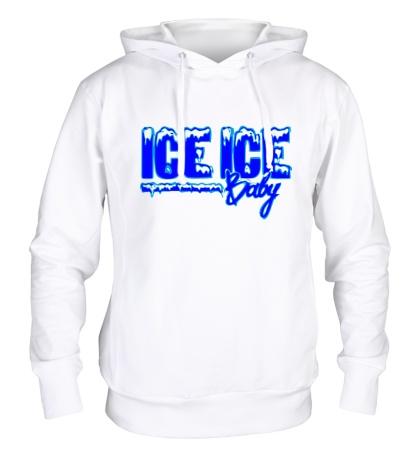 Толстовка с капюшоном Ice Ice Baby