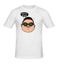 Мужская футболка Gangnam Style