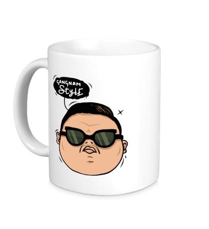 Керамическая кружка Gangnam Style