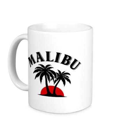 Керамическая кружка Malibu Rum
