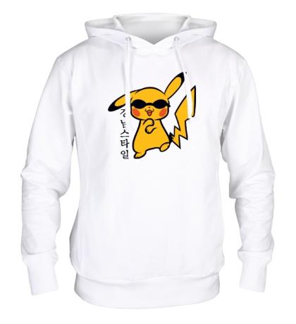 Толстовка с капюшоном Pikachu Style