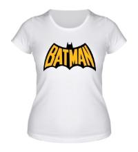 Женская футболка Batman Sign