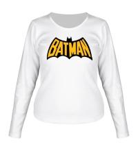 Женский лонгслив Batman Sign