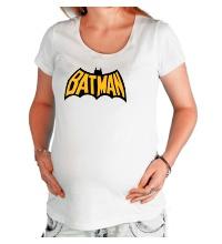 Футболка для беременной Batman Sign