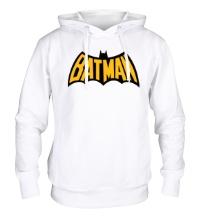 Толстовка с капюшоном Batman Sign