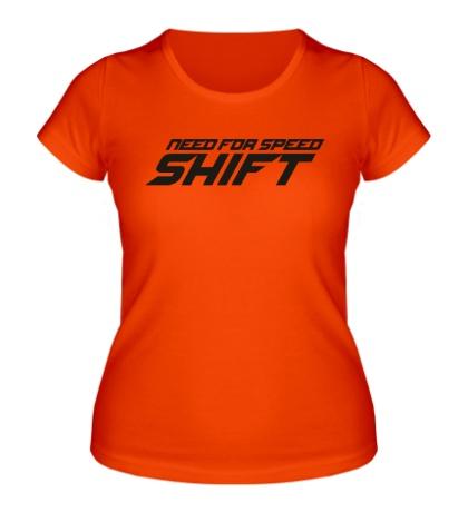 Женская футболка NFS: Shift