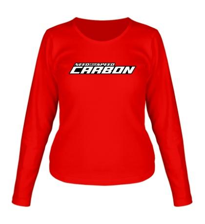 Женский лонгслив NFS: Carbon