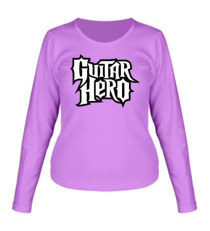 Женский лонгслив Guitar Hero