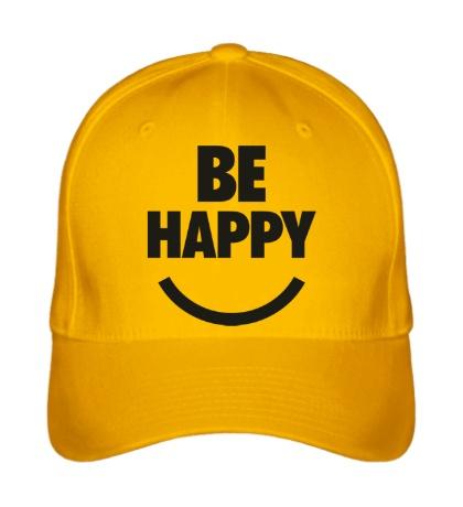 Бейсболка Be Happy
