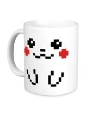 Керамическая кружка 8-bit Pikachu