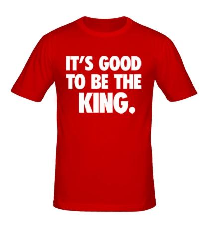 Мужская футболка To be the King
