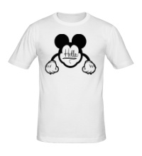 Мужская футболка Hello, Mickey Mouse