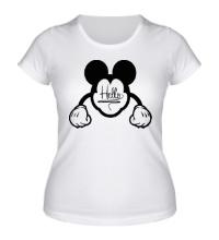 Женская футболка Hello, Mickey Mouse