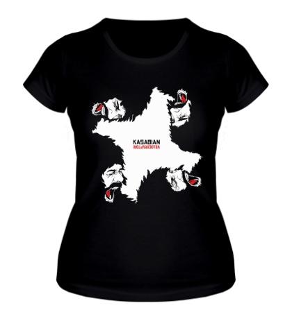 Женская футболка Kasabian
