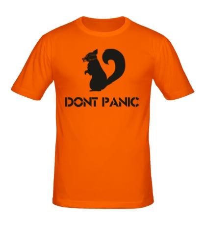 Мужская футболка Dont panic