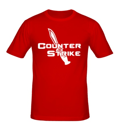 Мужская футболка Counter-Strike Knife