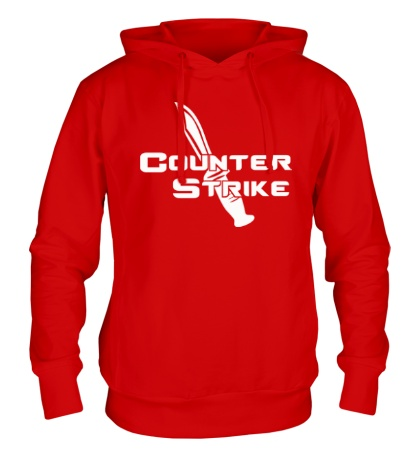 Толстовка с капюшоном Counter-Strike Knife