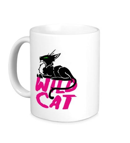 Керамическая кружка Wild Cat