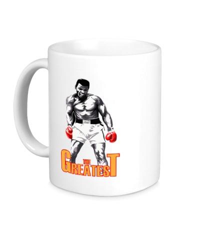 Керамическая кружка The greatest Ali