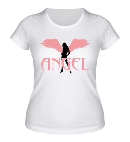 Женская футболка Angel