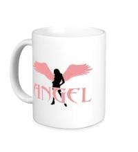 Керамическая кружка Angel