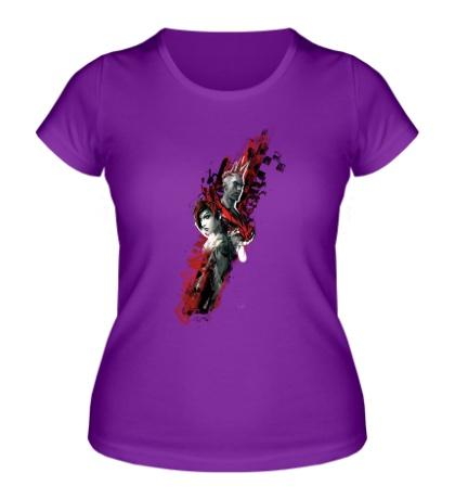 Женская футболка APB Reloaded: Blood Racing