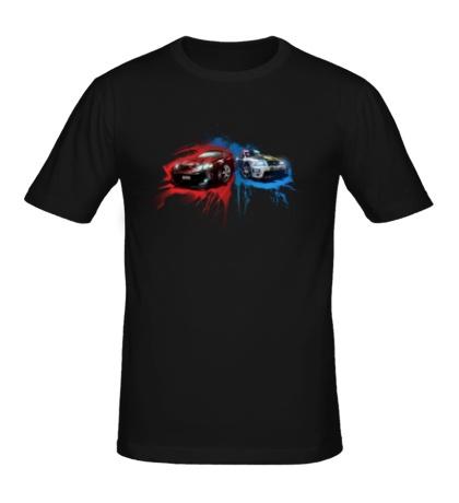 Мужская футболка APB Reloaded: Racing