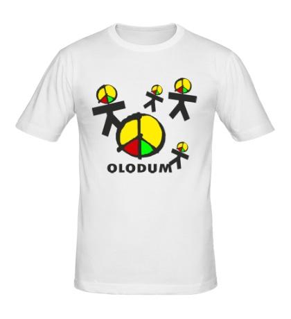 Мужская футболка Олодум, Olodum