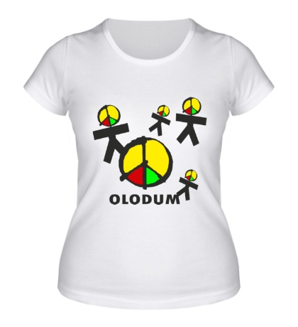 Женская футболка Олодум, Olodum