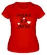Женская футболка «Создана для любви!» - Фото 1
